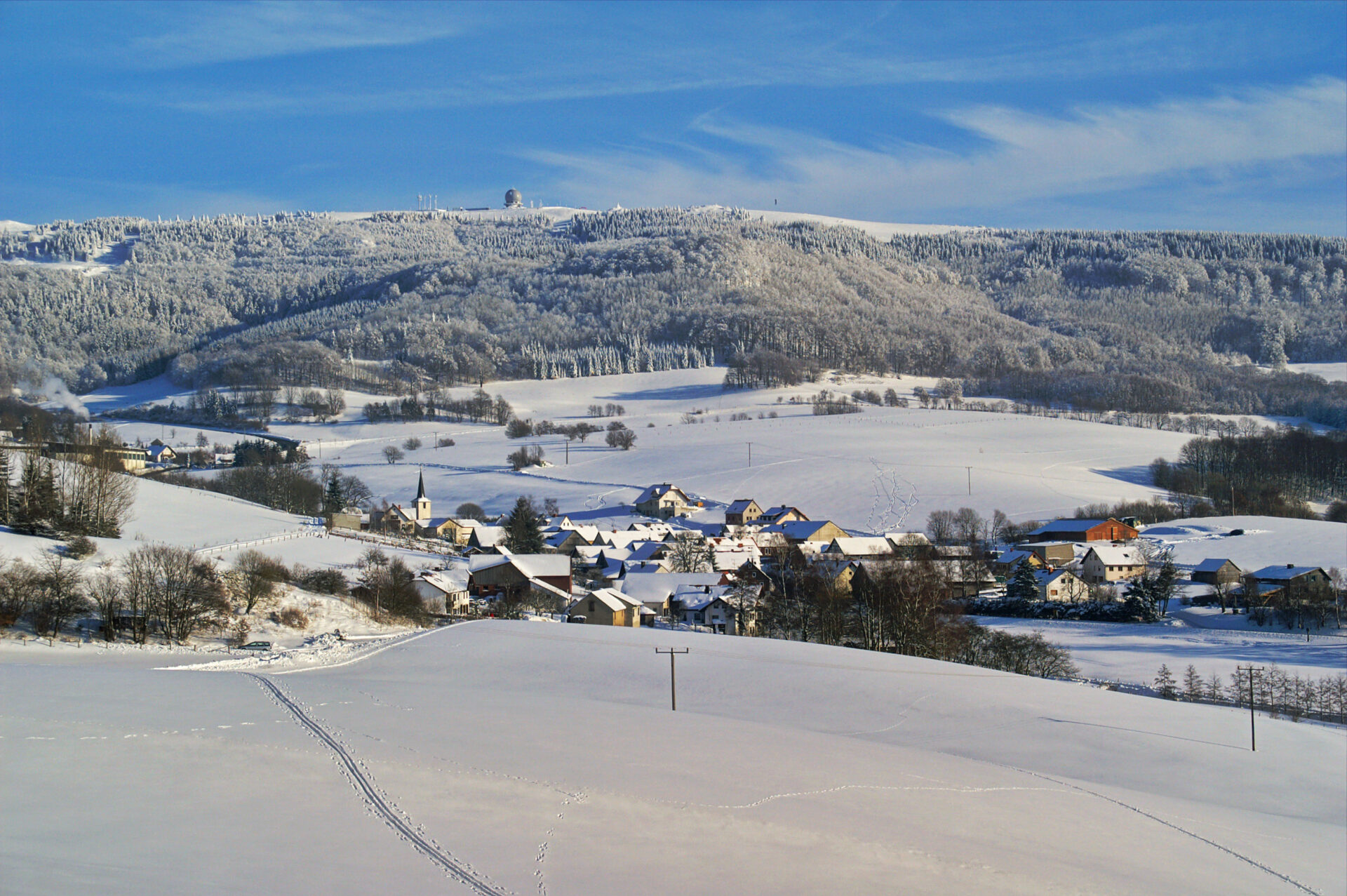 Sieblos im Winter